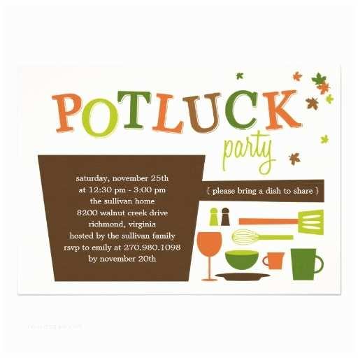 Potluck Party Invitation Fice Potluck Invitation Wording Samples