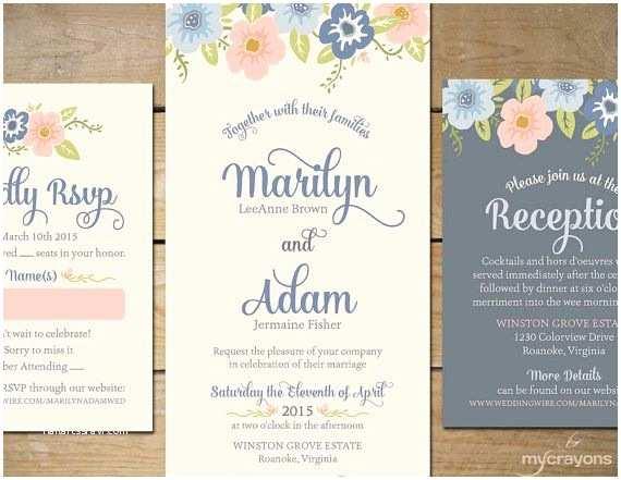 Powder Blue Wedding Invitations 25 Best Ideas About Wedding Invitation Sets On Pinterest