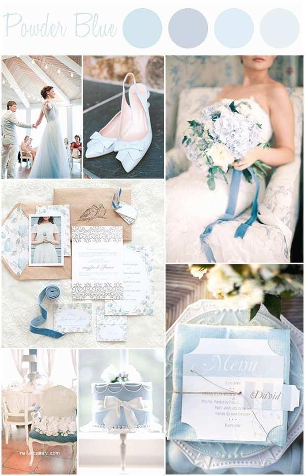 Powder Blue Wedding Invitations 6 Perfect Shades Blue Wedding Color Ideas and Wedding