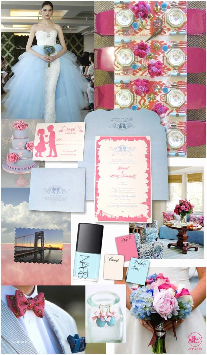 Powder Blue Wedding Invitations New York Weddings New York Wedding Blog