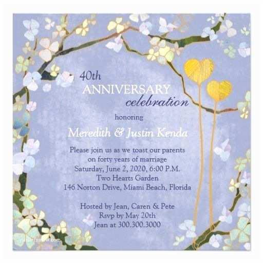 Powder Blue Wedding Invitations Rustic Powder Blue Wedding Anniversary Invitations