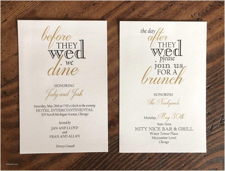 Pre Wedding Dinner Invitation Wording Brunch Invitations – Erickson Design