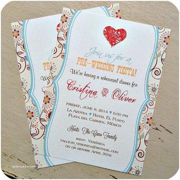 Pre Wedding Party Invitation 46 Party Invitation Designs