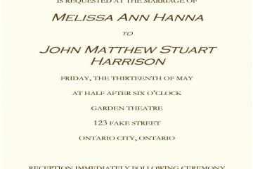 Pre Wedding Party Invitation Nice