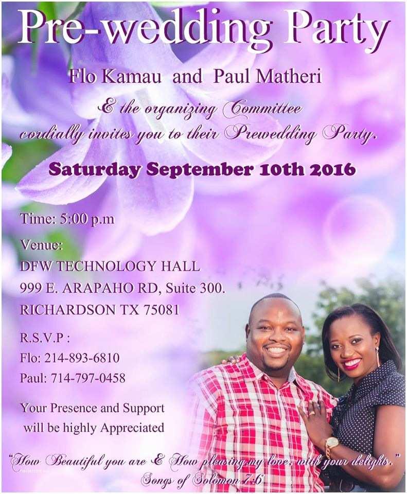 Pre Wedding Party Invitation Pre Wedding Invitation Cards