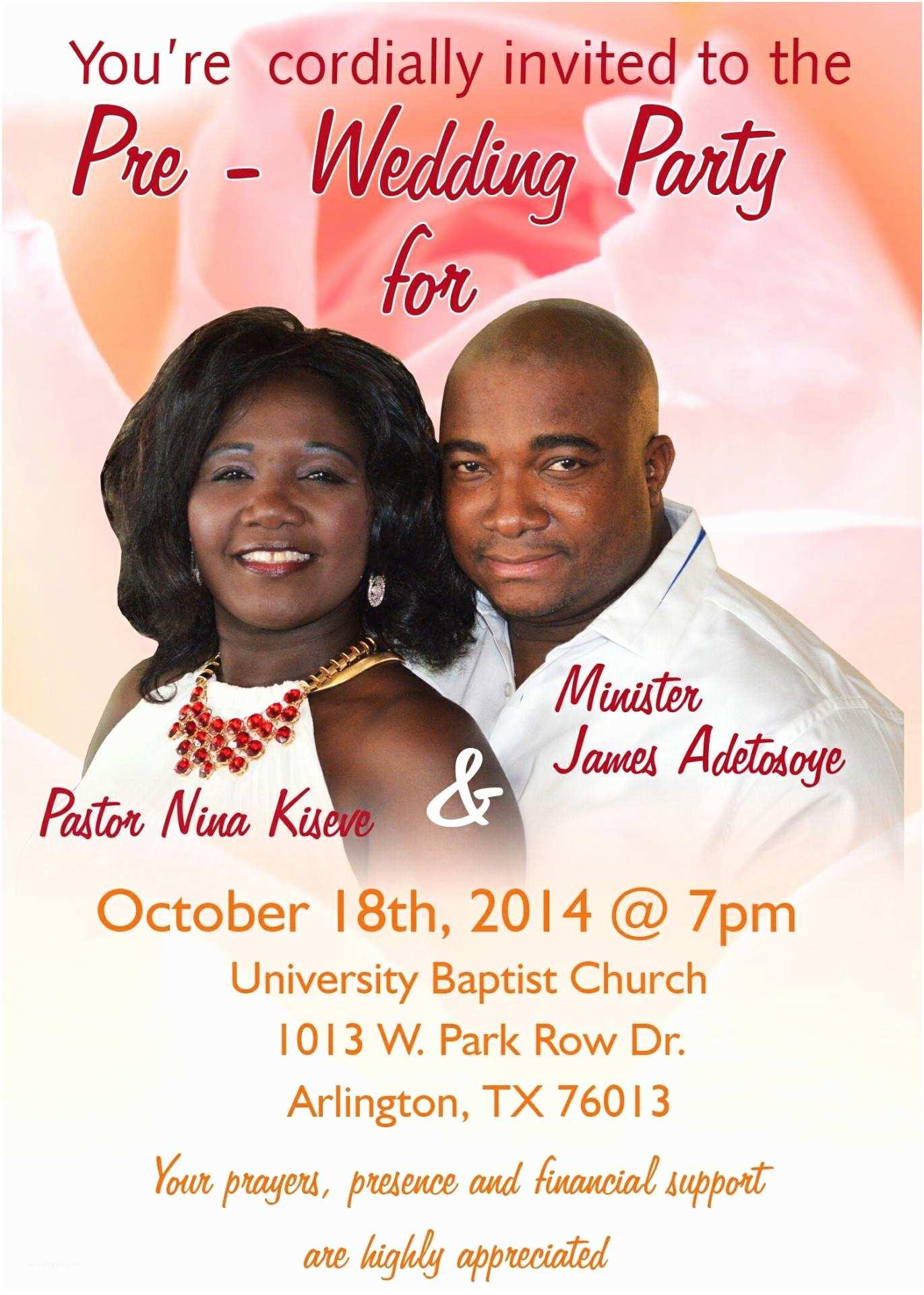 Pre Wedding Party Invitation Pre Wedding Party Invitations