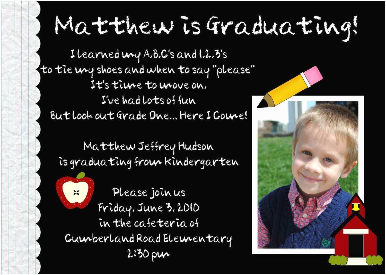 Preschool Graduation Invitations Digital Preschool Kindergarten Graduation by
