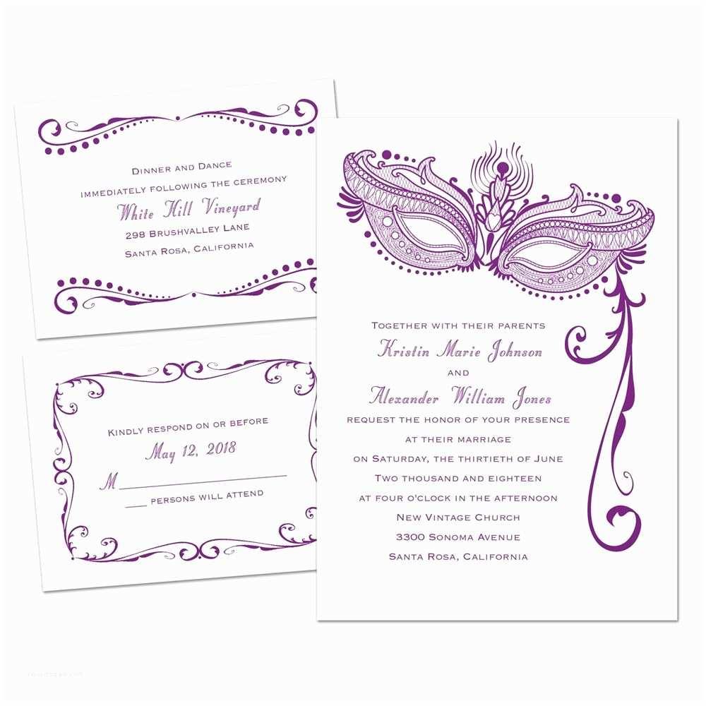 Pretty Wedding Invitations Breathtaking 3 In 1 Wedding Invitations
