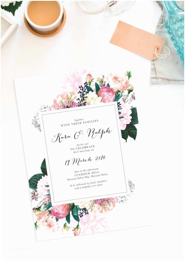 Primitive Wedding Invitations 17 Best Ideas About Floral Wedding Invitations On