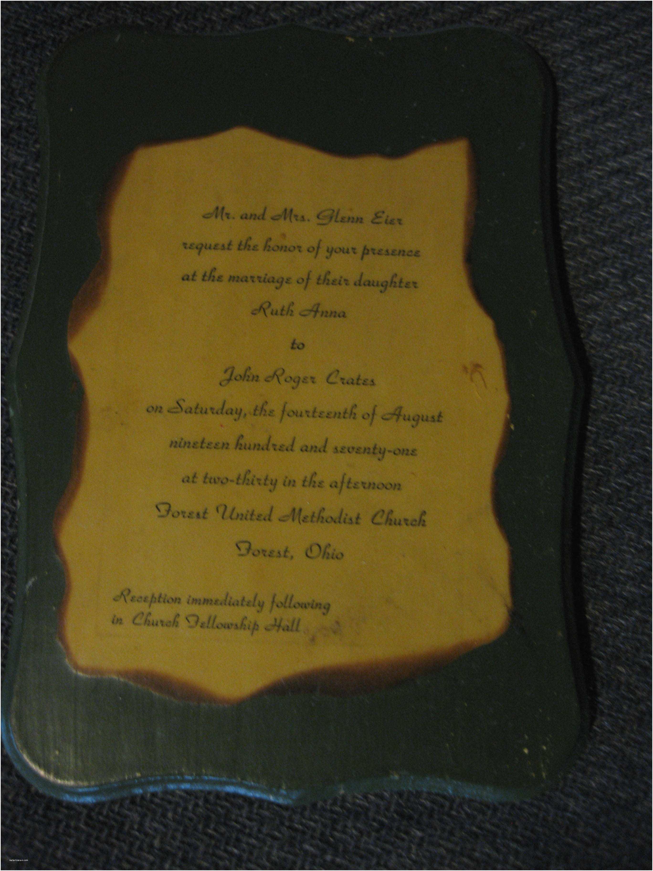 Primitive Wedding Invitations I Was Primitive before Primitive Was Cool