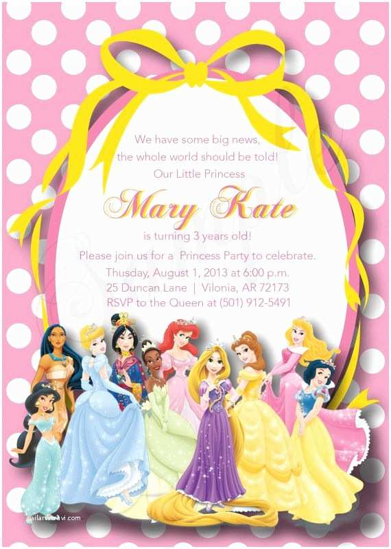 Princess Birthday Invitations Best 25 Princess Party Invitations Ideas On Pinterest