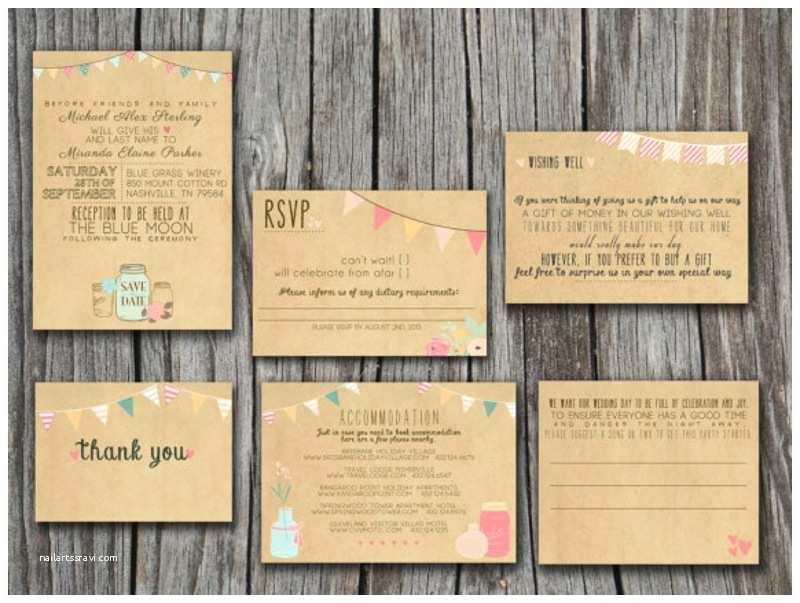 Print at Home Wedding Invitations Wedding Invitation Templates Print at Home Wedding