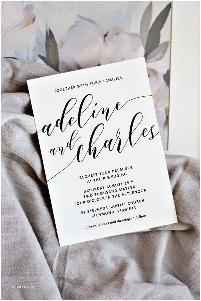 Print Your Own Wedding Invitations 25 Bästa Make Your Own Invitations Idéerna På Pinterest