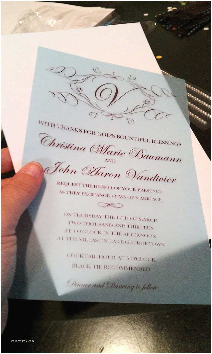 Print Your Own Wedding Invitations How to Make Your Own Wedding Invitations for Under $50