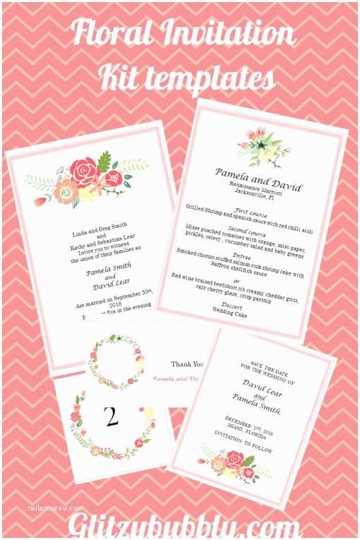 Print Your Own Wedding Invitations Kits 14 Best Images About Printable Able Kits On
