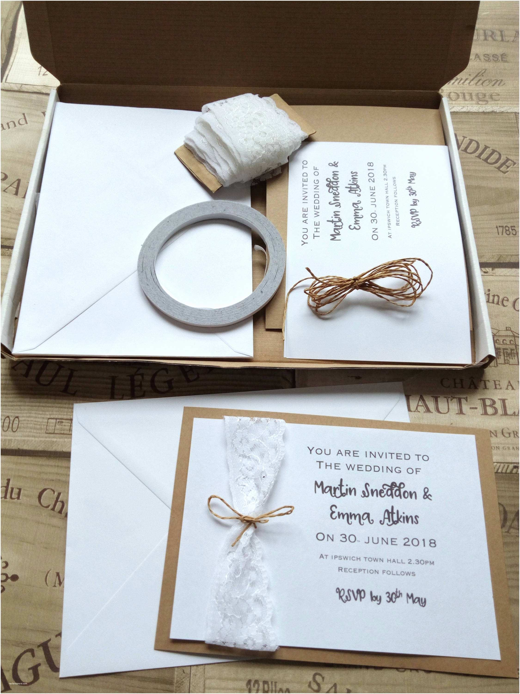 Print Your Own Wedding Invitations Kits Wedding Invitation Kit Make Your Own Wedding Invitations