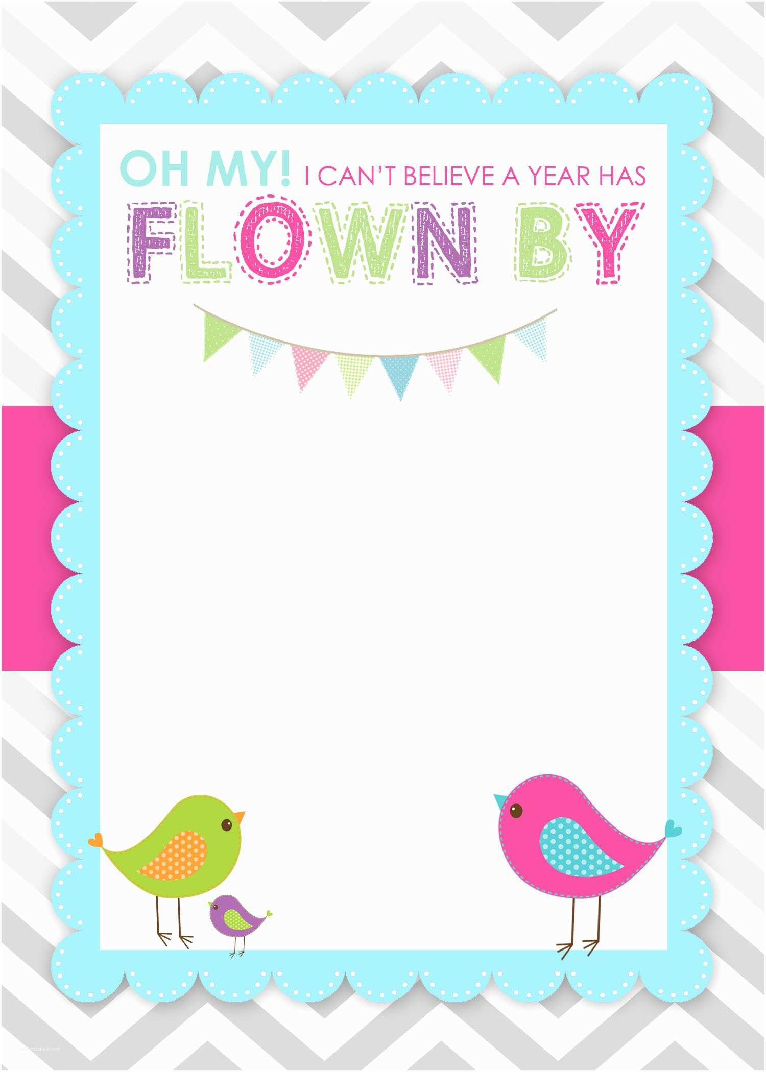 Printable Birthday Party Invitations Bird themed Birthday Party with Free Printables How to