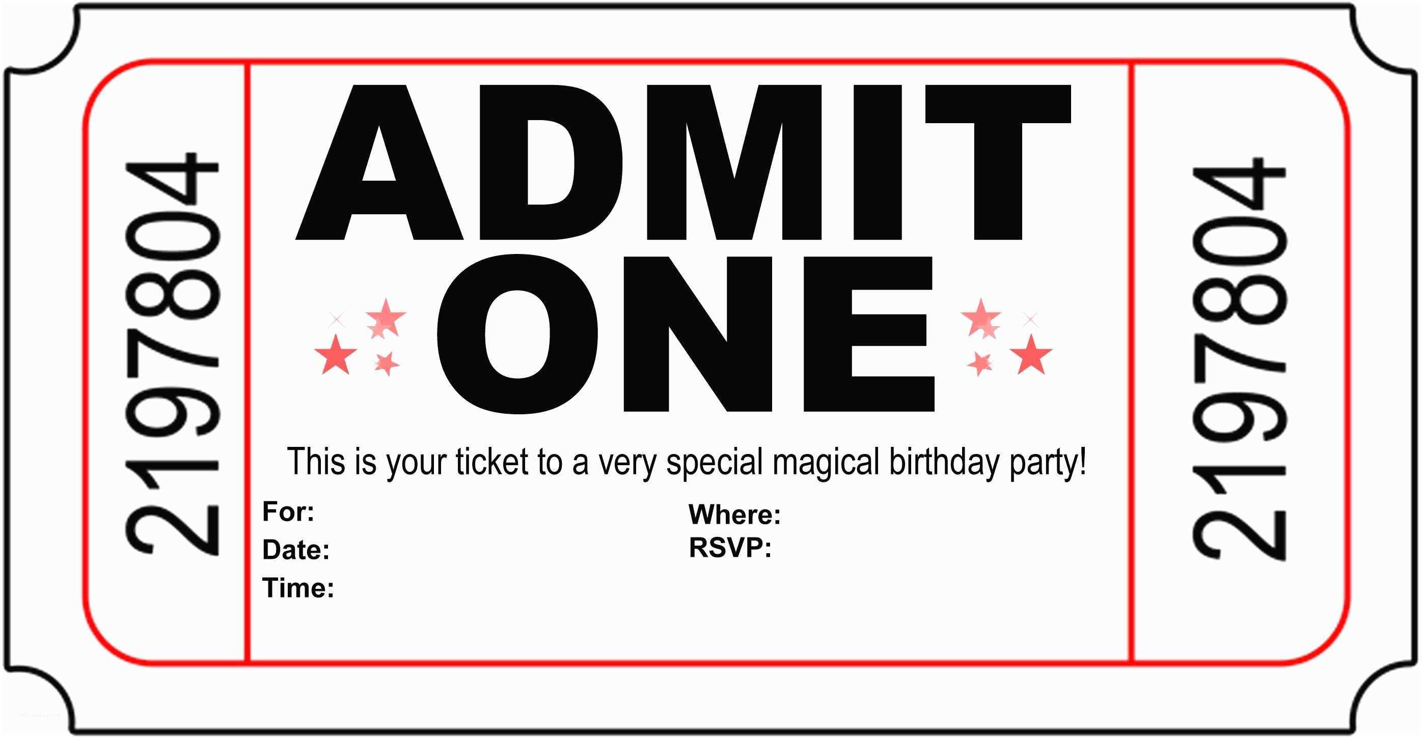 Printable Birthday Party Invitations Free Printable Birthday Invitations