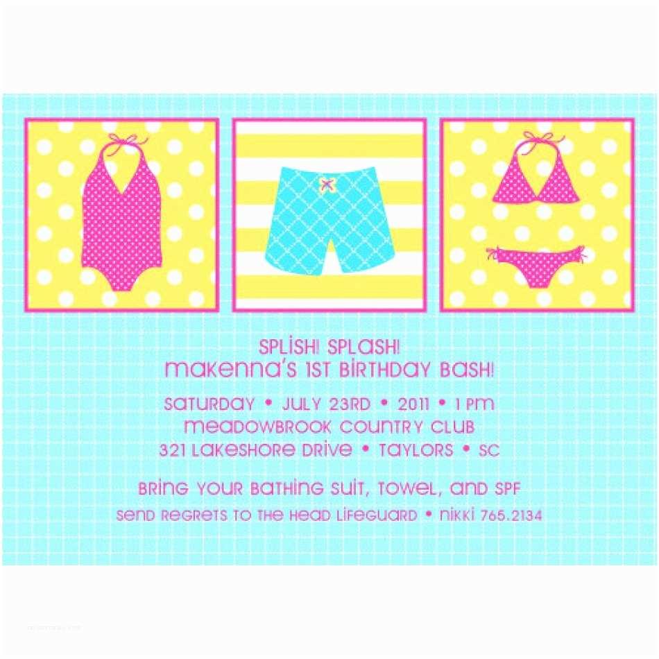 photo regarding Free Printable Pool Party Birthday Invitations identify Printable Birthday Bash Invites No cost Printable Pool