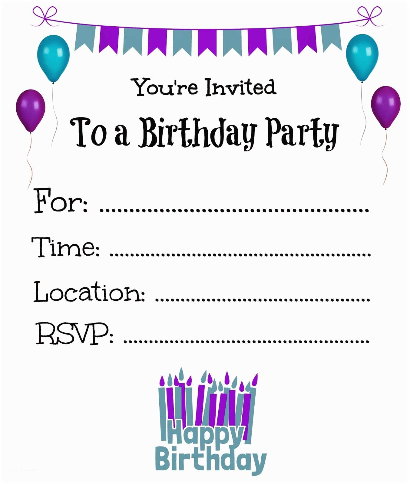Printable Birthday Party Invitations It S A Princess Thing Free Printable Birthday Invitations