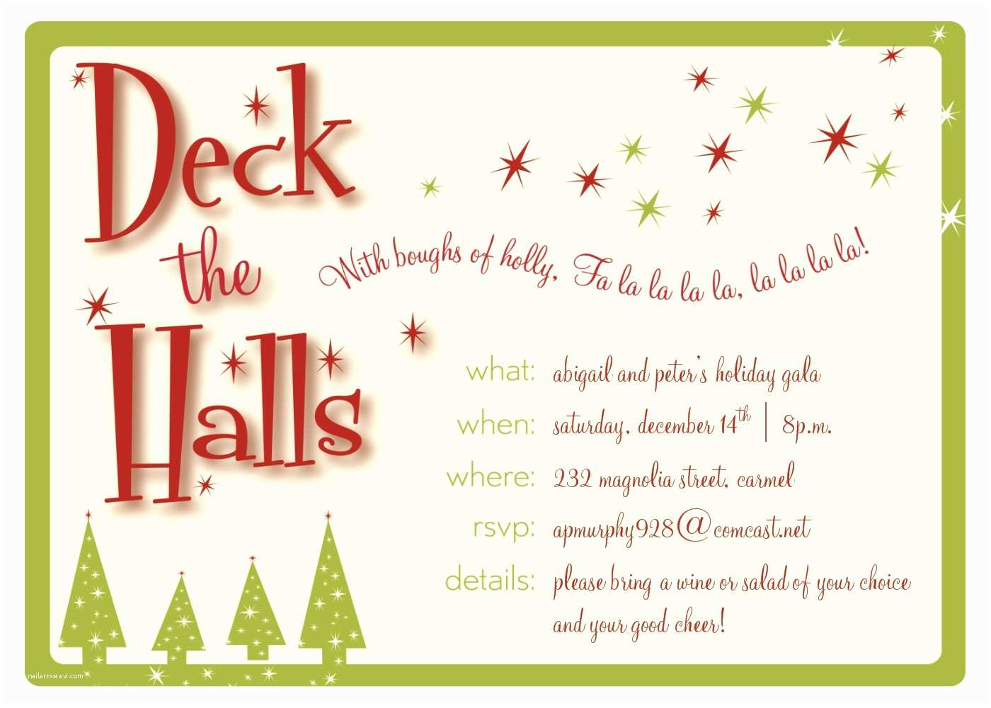 Printable Christmas Party Invitations Christmas Party Invitation Templates