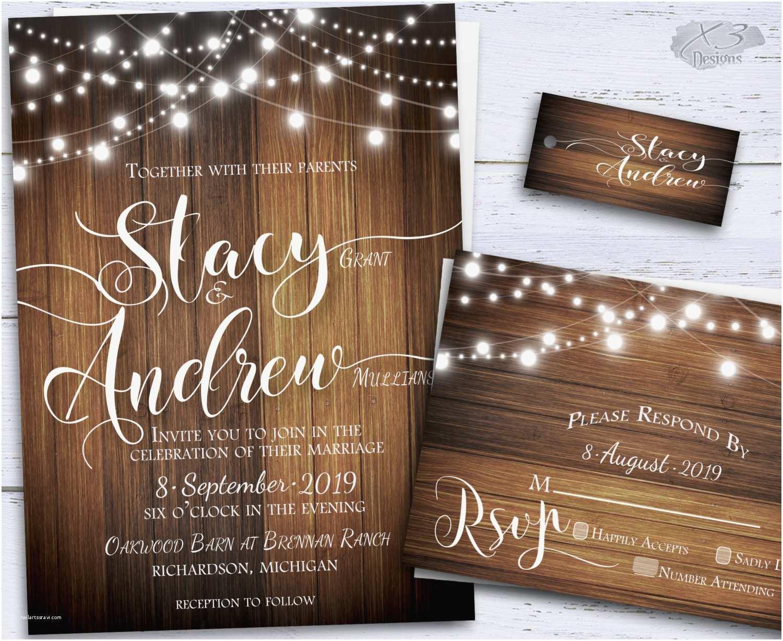 Printable Rustic Wedding Invitations Rustic Wedding Invitation Country Diy Printable by X3designs