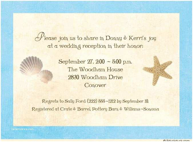 Printable Seashell Wedding Invitations 14 Best Wedding Invitation Images On Pinterest