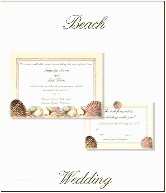 Printable Seashell Wedding Invitations 27 Best Images About Boda Punta Cana On Pinterest