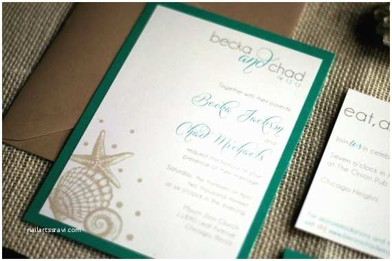 Printable Seashell Wedding Invitations 63 Best Images About Wedding Invitations On Pinterest