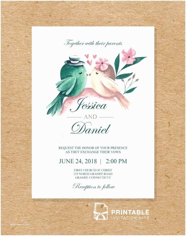 Printable Wedding Invitation Kits 219 Best Wedding Invitation Templates Free Images On