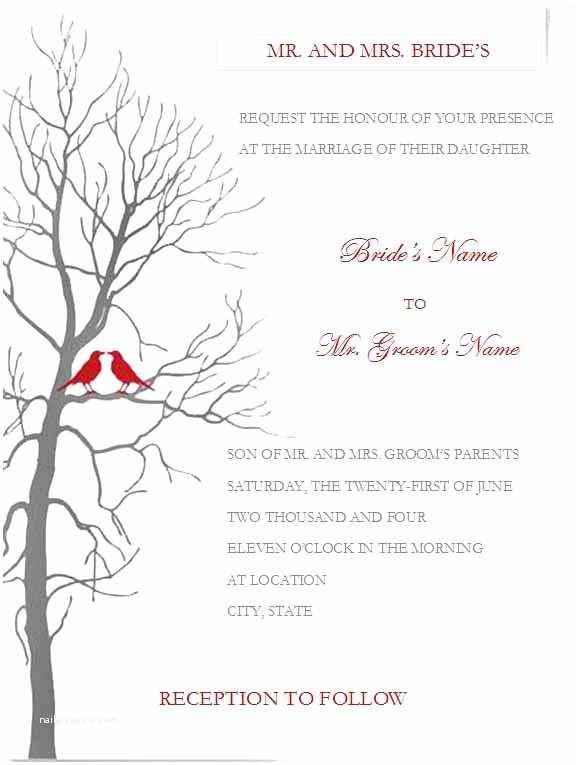 Printable Wedding Invitation Templates Free Printable Wedding Invitation Templates for Word