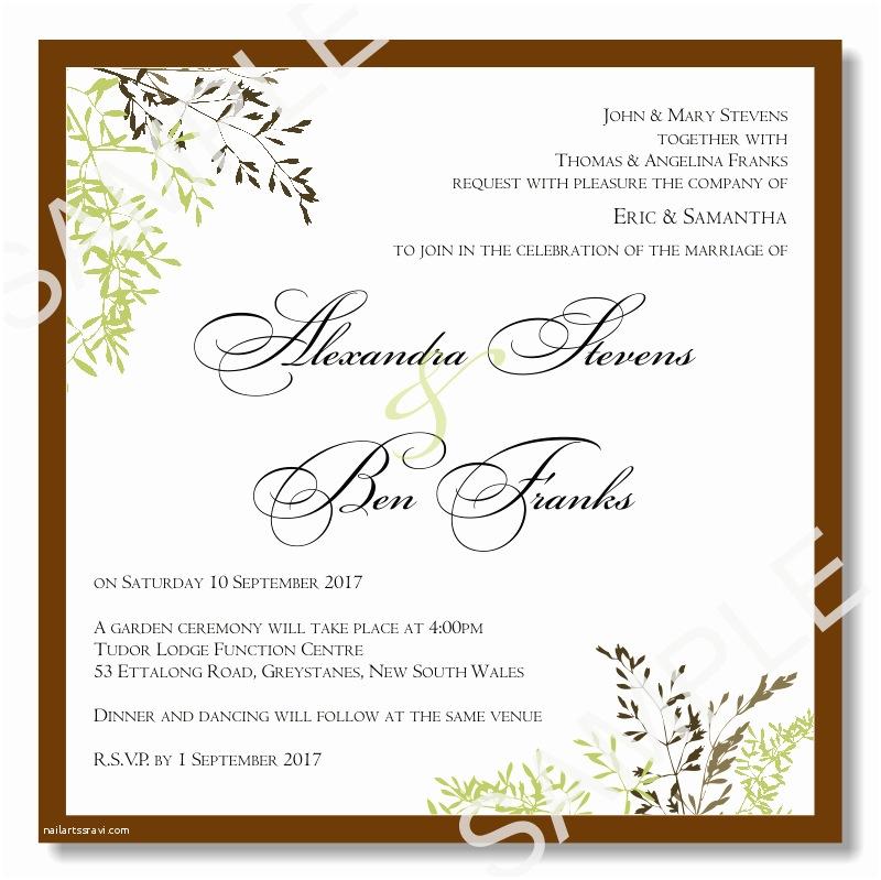 Printable Wedding Invitation Templates Wedding Invitation Templates 03