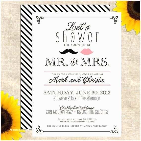 Printable Wedding Shower Invitations Free Bridal Shower Invitations