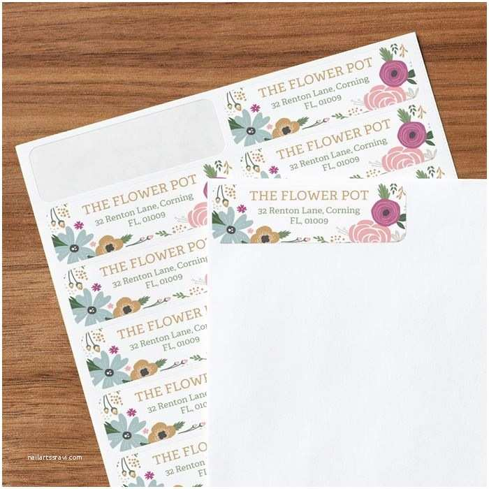 Printed Address Labels for Wedding Invitations Address Labels & Return Address Labels