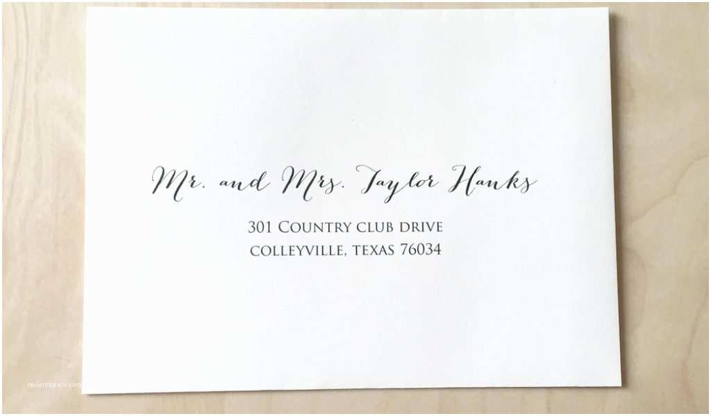 Printed Address Labels for Wedding Invitations Address Labels for Wedding Invitations