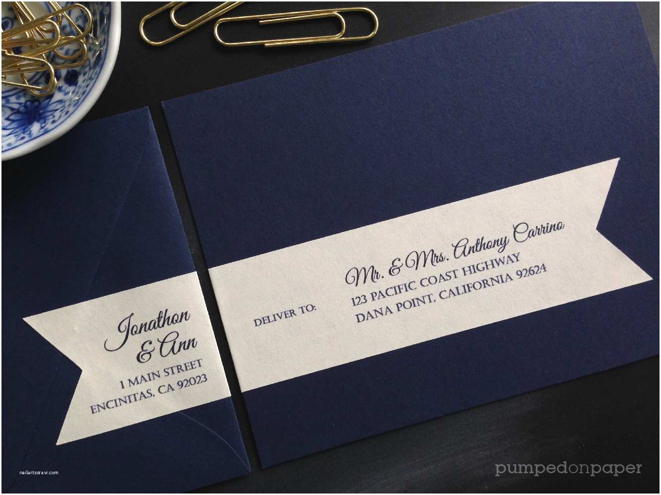 Printed Address Labels for Wedding Invitations Address Labels for Wedding Invitations Personalized Return