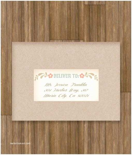 Printed Address Labels for Wedding Invitations Folksy Love Birds Address Label