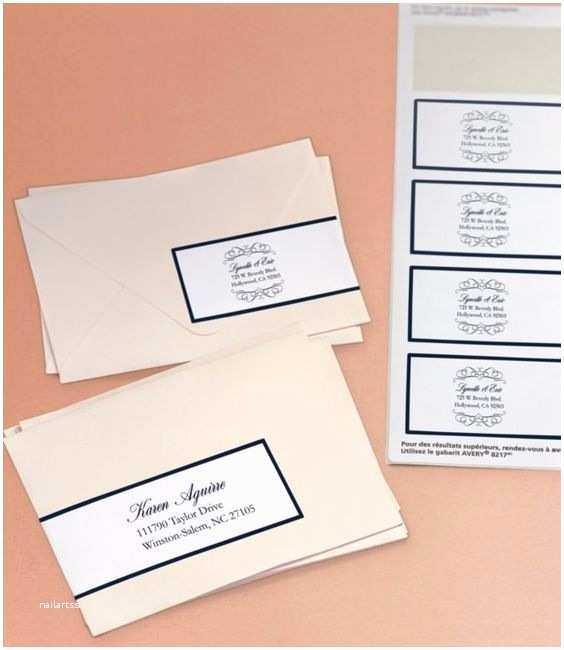 Printed Address Labels for Wedding Invitations Here S An Beautiful Way to Address Your Wedding