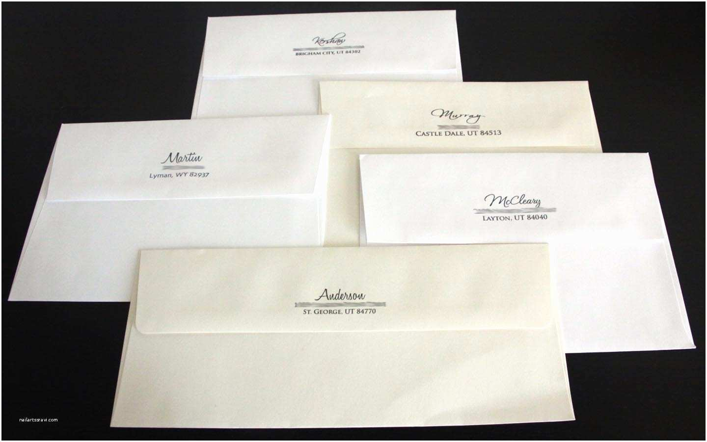 Printed Address Labels for Wedding Invitations Kara S Koncepts Graphic Design Custom Wedding