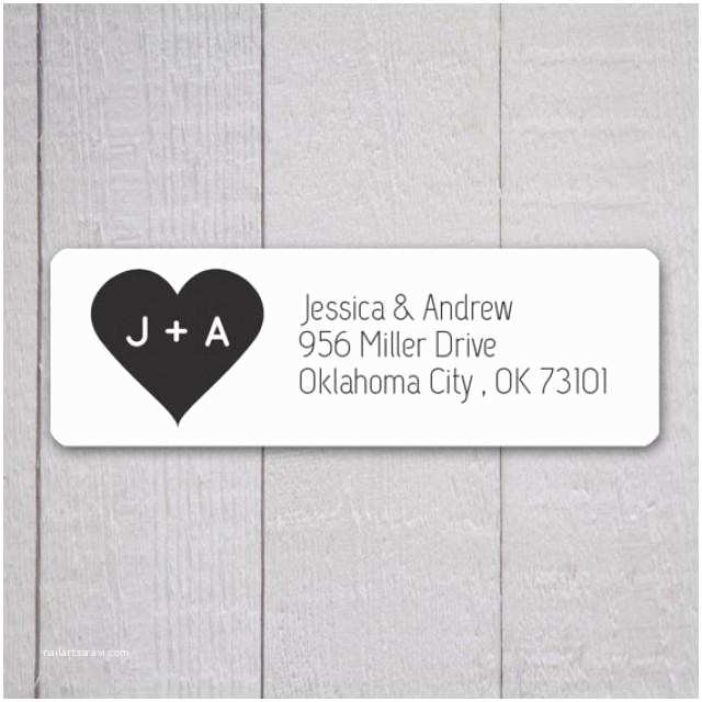 Printed Address Labels for Wedding Invitations Wedding Invitation Return Address Labels Wedding Stickers