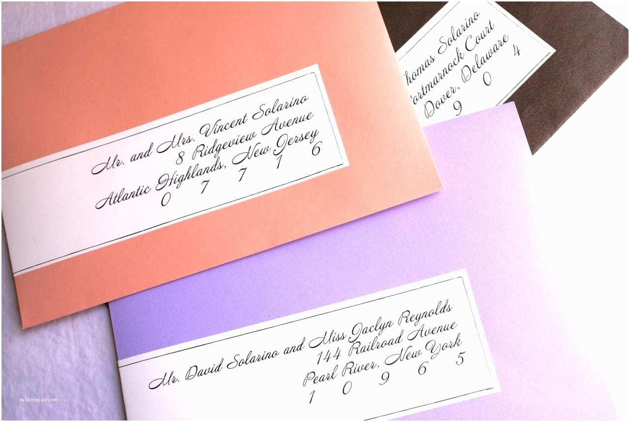 Printed Address Labels for Wedding Invitations Wedding Invitation Templates Wedding Invitation Address