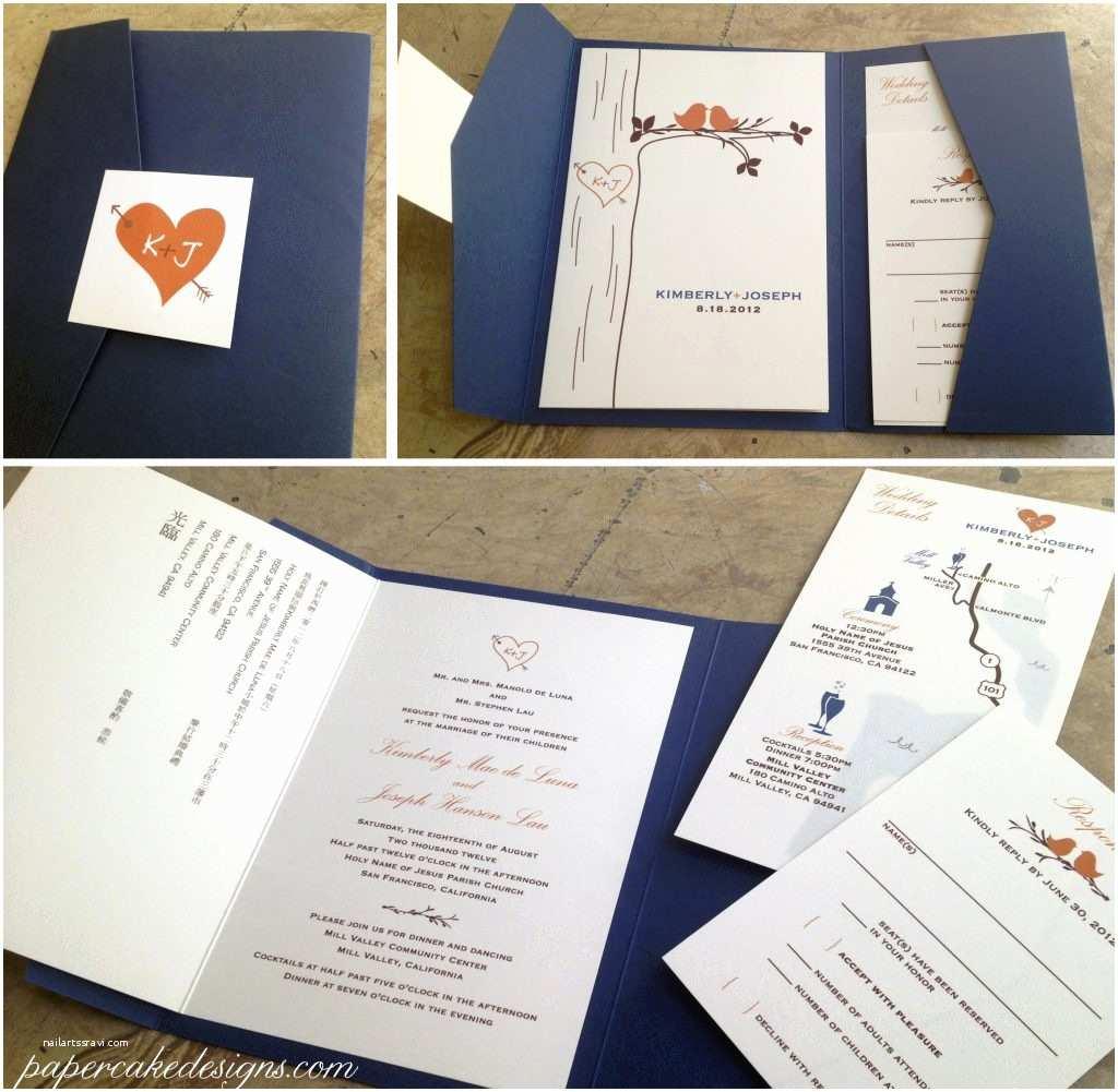 Printing Wedding Invitations at Kinkos Custom Designed Monogram Including Cover Design Bilingual