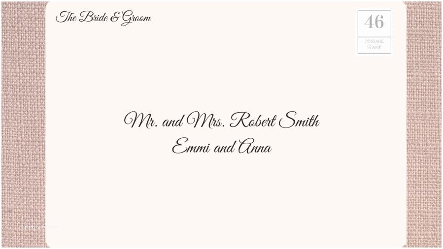 Proper Wedding Invitation Addressing How to Address Wedding Invitations southern Living