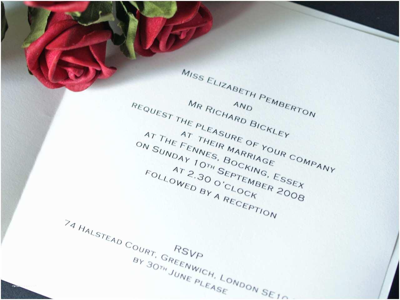 Proper Wedding Invitation Wording Proper Wording for Wedding Invitations Invitation Wordi