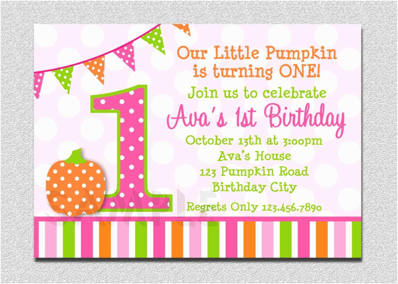 Pumpkin Birthday Invitations Pumpkin Birthday Invitation Pumpkin Invitation Pumpkin