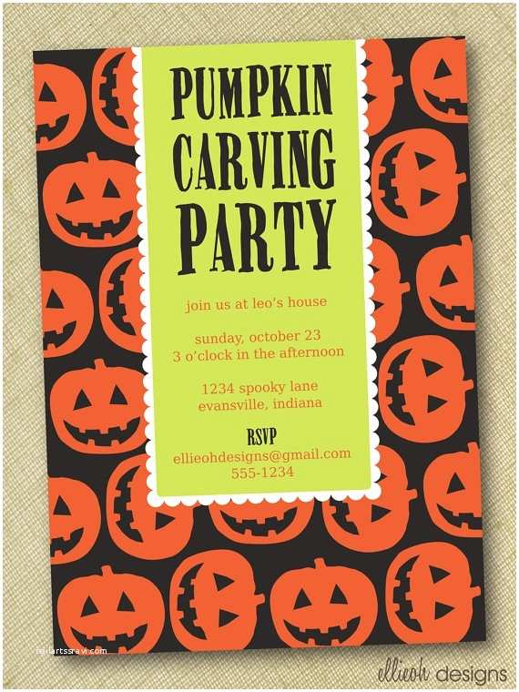 Pumpkin Carving Party Invitation 50 Best Images About Pumpkin Carving Party On Pinterest