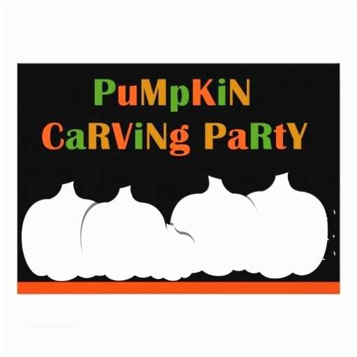 Pumpkin Carving Party Invitation Pumpkin Carving Halloween Party Invitation