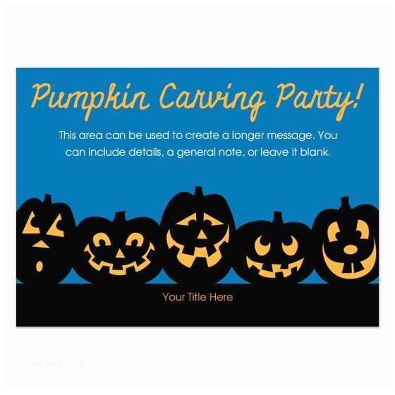 Pumpkin Carving Party Invitation Pumpkin Carving Party Invitations & Cards On Pingg