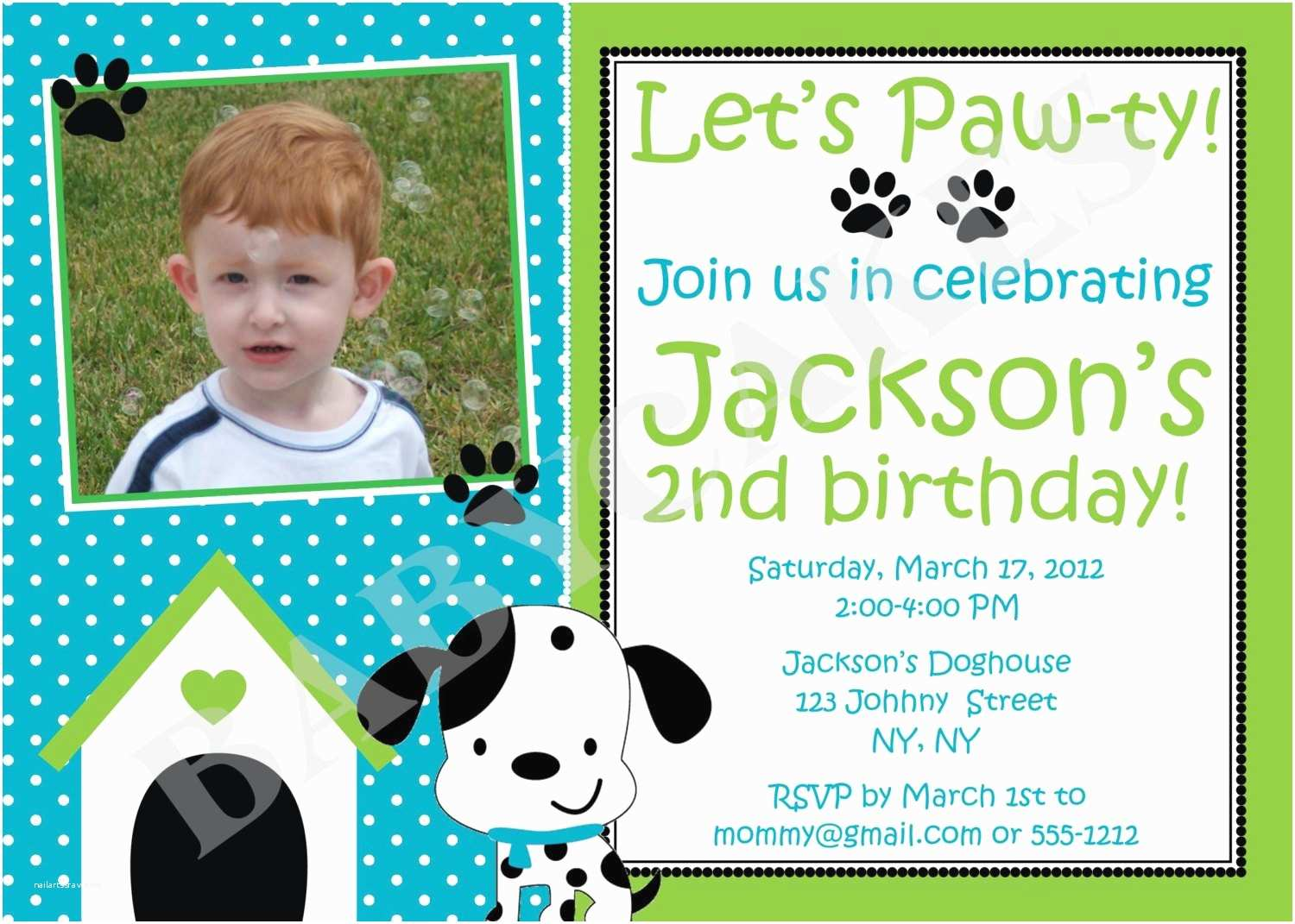 Puppy Party Invitations Puppy Party Birthday Invitation Dalmation Diy Print Your Own