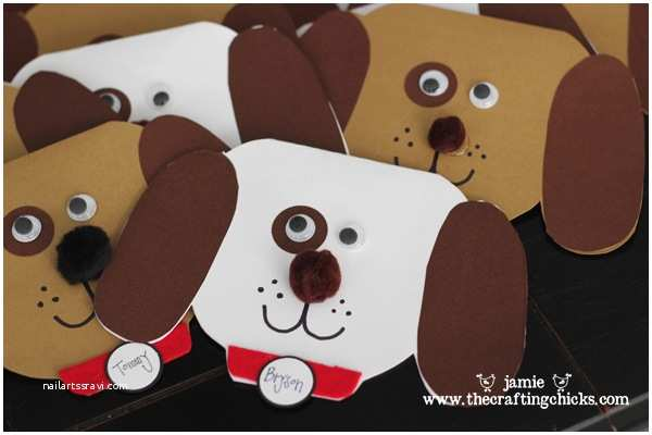 Puppy Party Invitations Puppy Shop Party the Crafting Chicks